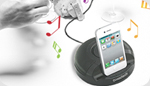 iPhone, iPad, iPod MFI Stereo Music Dock - By Naztech