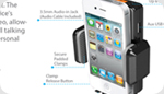iPhone 4S Car Mount System - Talk, Play, Charge & Mount On-the-go!