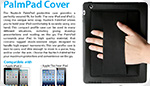 New iPad PalmPad Cover by Naztech - Available Now!